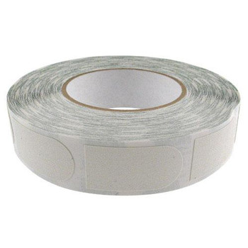 "Storm White Textured 1"" Bowling Tape Bulk Roll"
