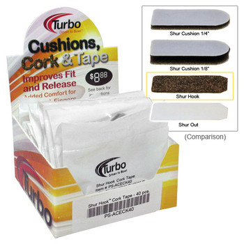 Turbo Shur Out Tape - Box of 40