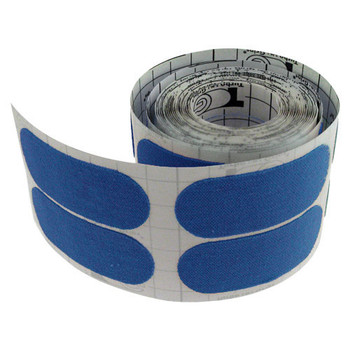 Turbo Quick Release Patch Tape (Blue) - 100 Piece Roll