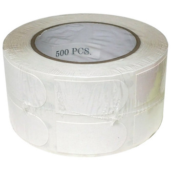 "Turbo White Textured 1"" Bowling Tape - 500 Roll"