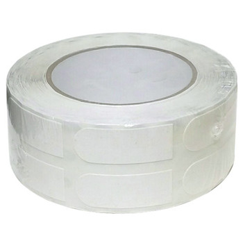 "Turbo White Textured 3/4"" Bowling Tape - 500 Roll"