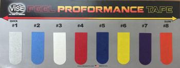 Vise Feel Proformance Tape - Chart