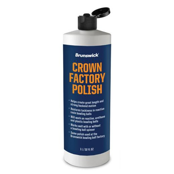 Brunswick Crown Factory Polish - 32 oz