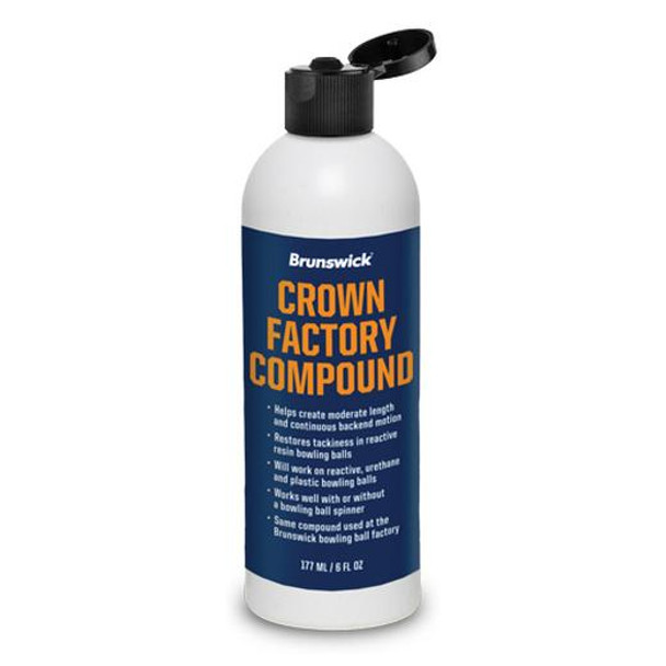 Brunswick Crown Factory Compound - 6 oz