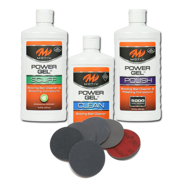 Motiv Cleaner & Polish with Complete Set of Abralon Pads