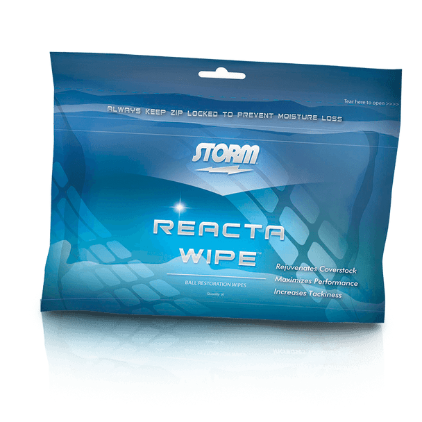 Storm Reacta Wipe - 20 Wipes - for cleaning your bowling ball