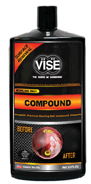 Vise Bowling Ball Compound - 32 oz