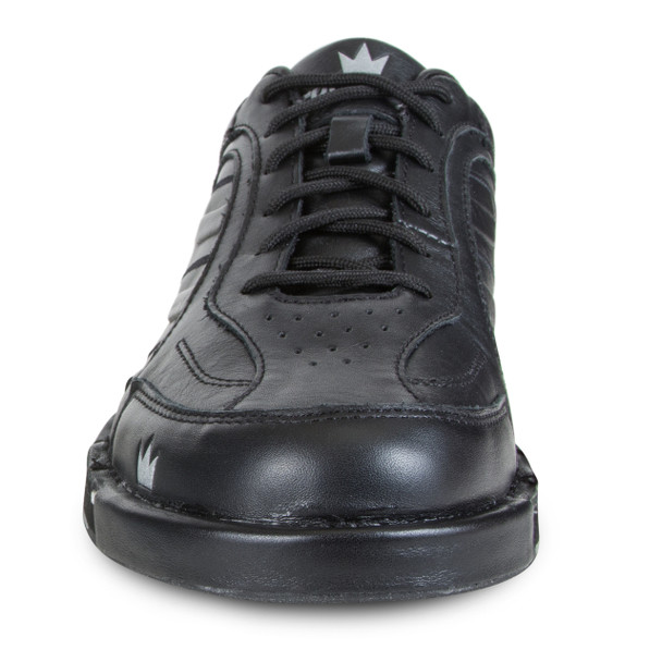 Brunswick Team Brunswick Mens Bowling Shoes Black Left Hand - front of shoe