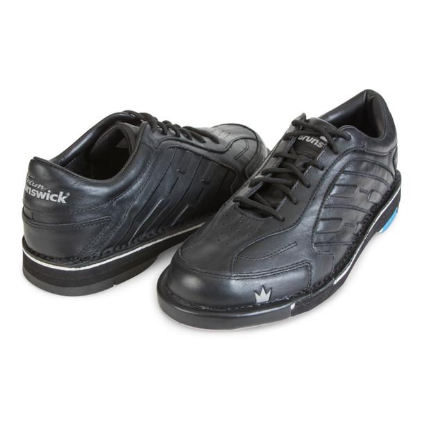 Brunswick Team Brunswick Mens Bowling Shoes Black Right Handed - angle
