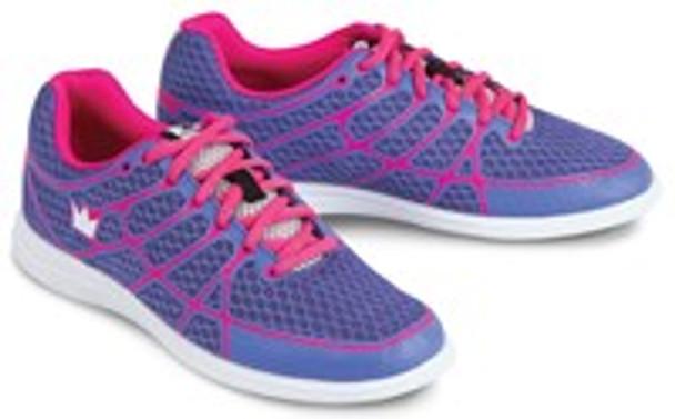 Brunswick Aura Womens Bowling Shoes Purple/Pink