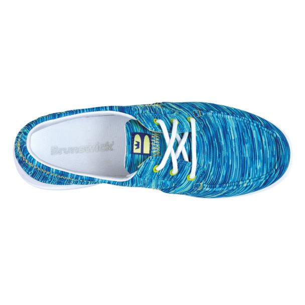 Brunswick Karma Womens Bowling Shoes Chameleon - top of shoe