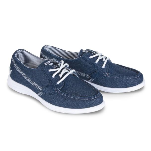 Brunswick Karma Womens Bowling Shoes Denim