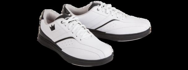 Brunswick Vapor Mens Bowling Shoes - White/Black