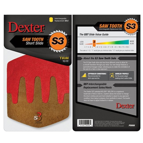 Dexter Replacement Sole - Sawtooth Sole (S3) - Model PD808