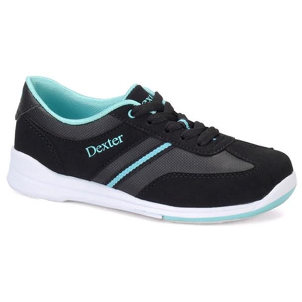Dexter Dani Womens Bowling Shoes - Black/Turquoise