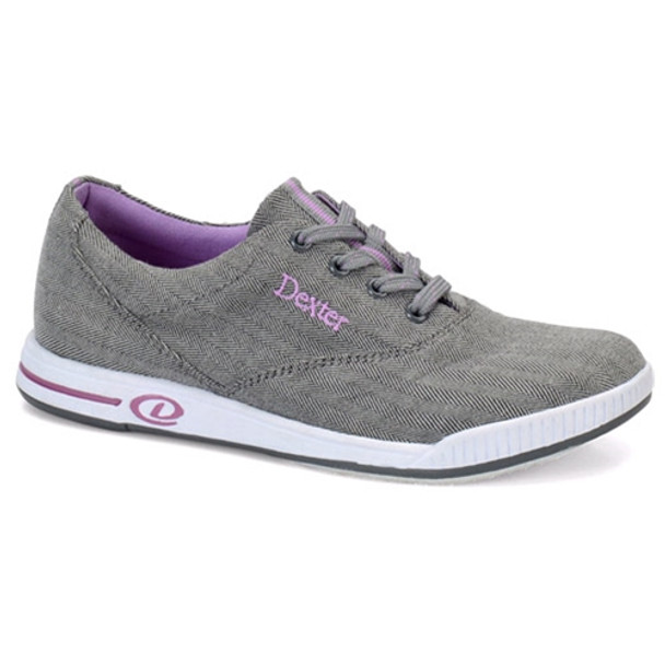 Dexter Kerrie Bowling Shoes Womens - Grey/Lavender