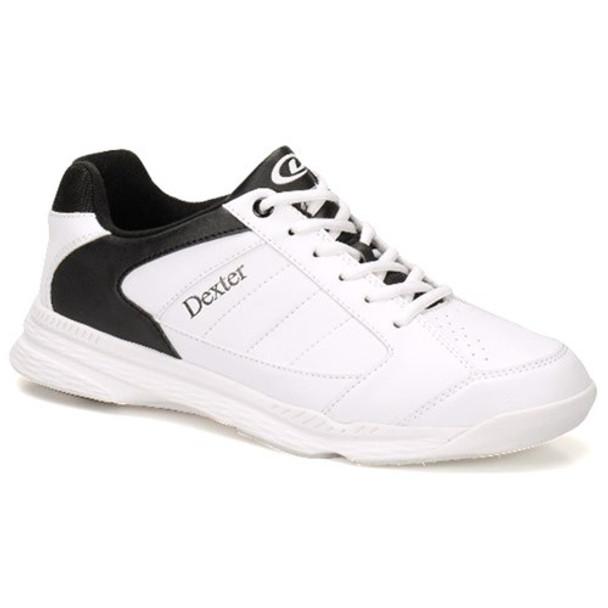 Dexter Ricky IV Mens Bowling Shoes - White/Black Trim