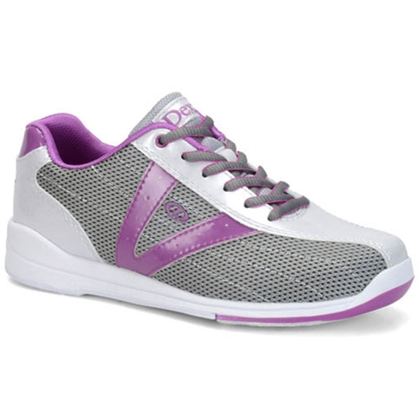 Dexter Vicky Womens Bowling Shoes - Silver/Grey/Purple