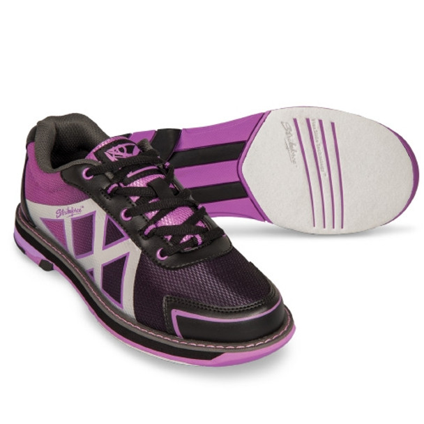 KR Strikeforce Kross Womens Bowling Shoes - Black/Purple