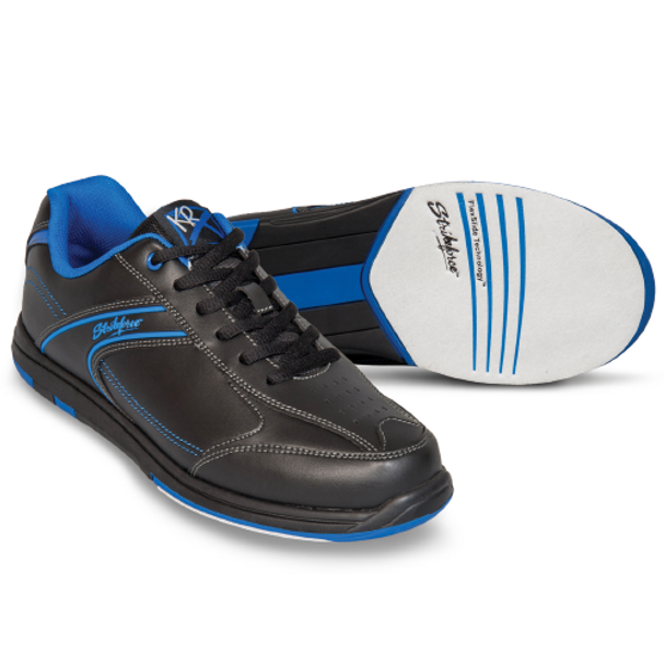 KR Strikeforce Flyer Youth Bowling Shoes - Black/Mag Blue