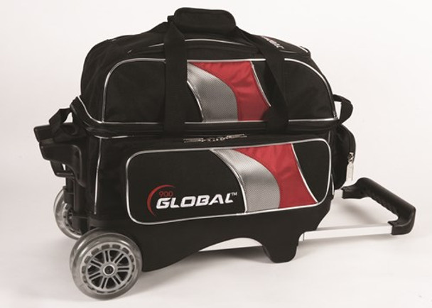 900 Global 2 Ball Deluxe Roller Black/Red/Silver