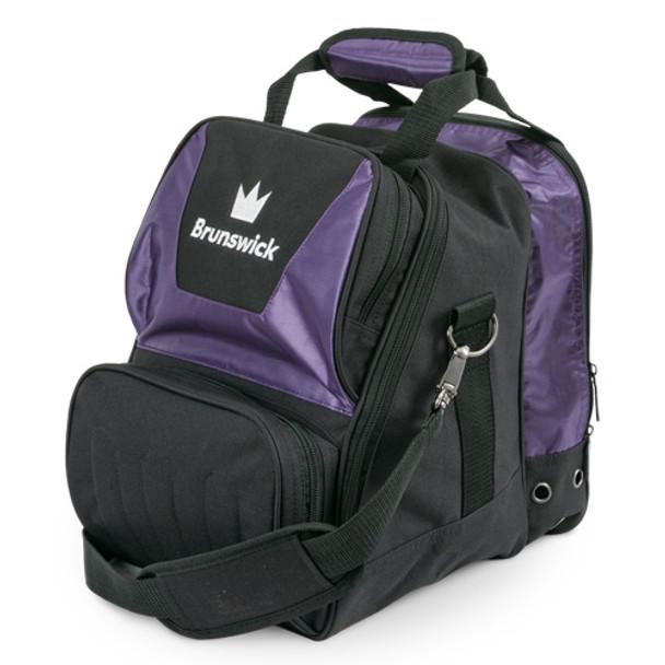 Brunswick Crown Single Tote - Purple