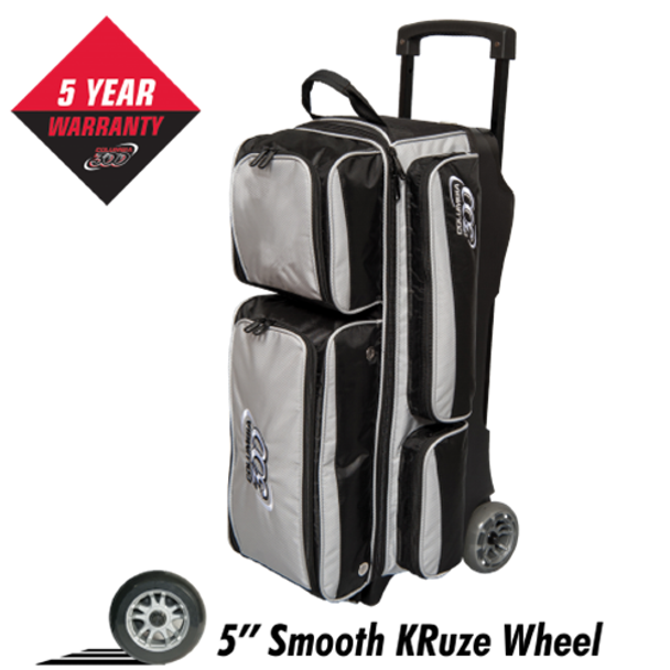 Columbia Icon 3 Ball Roller - Silver - Bowling Bag