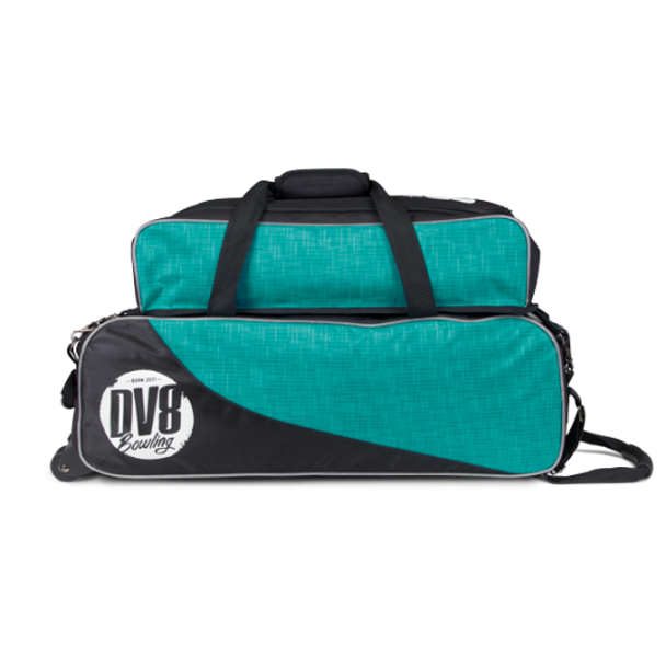 DV8 Circuit Triple Tote with Pouch - side angle