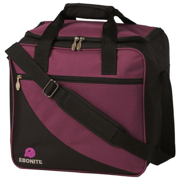 Ebonite Basic 1 Ball Bag Purple