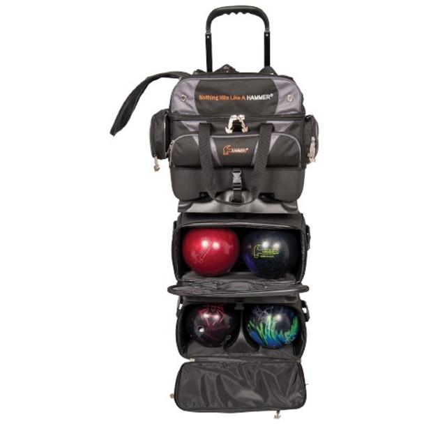 Hammer Premium 6 Ball Roller Black/Carbon Inside