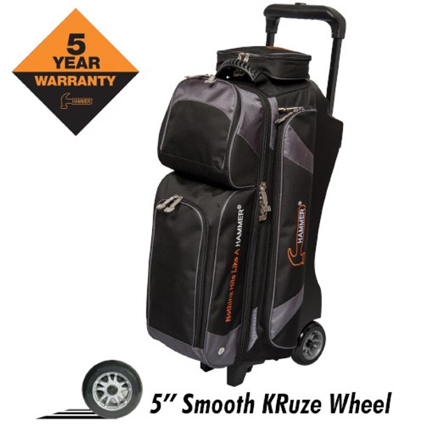 Hammer Premium 3 Ball Roller Black/Carbon