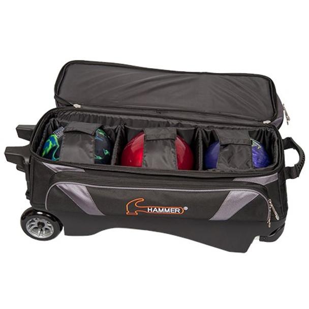 Hammer Premium 3 Ball Roller Black/Carbon Inside
