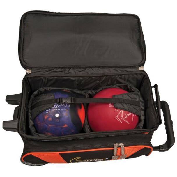 Hammer Premium 2 Ball Roller Black/Orange  Opened