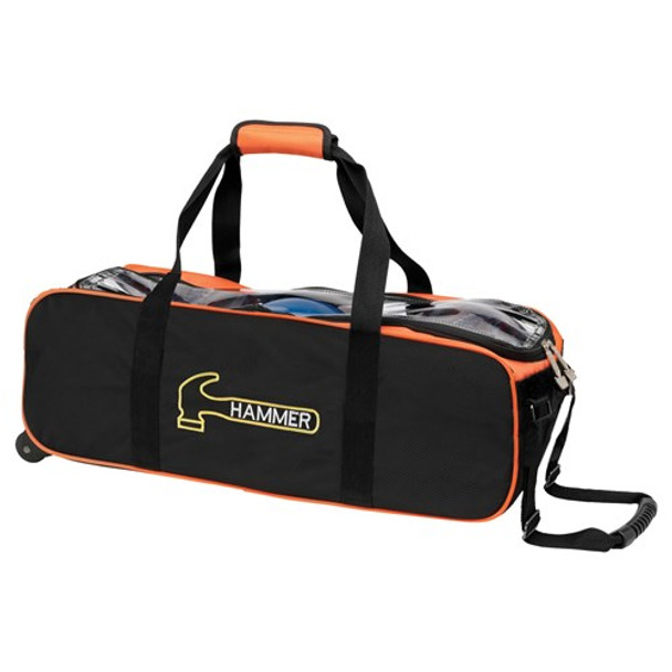 Hammer Triple Tote Black/Orange