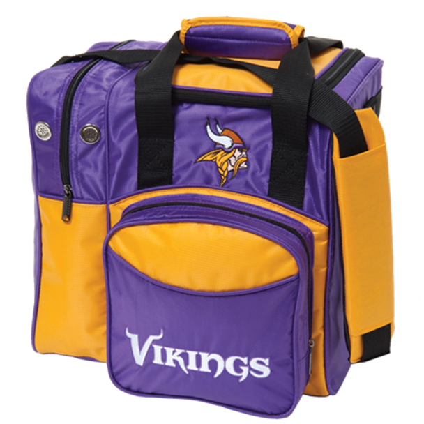 KR Strikeforce NFL Minnesota Vikings 1-Ball Bowling Bag