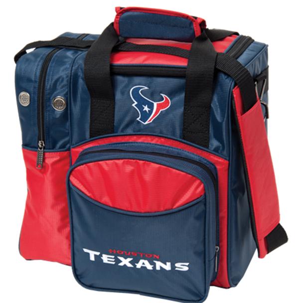 KR Strikeforce NFL Houston Texans 1-Ball Bowling Bag