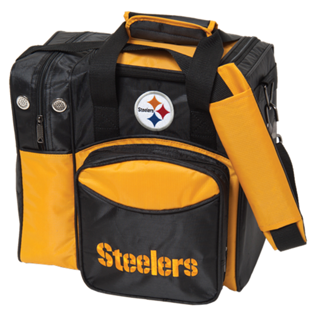 KR Strikeforce NFL Pittsburgh Steelers 1-Ball Bowling Bag