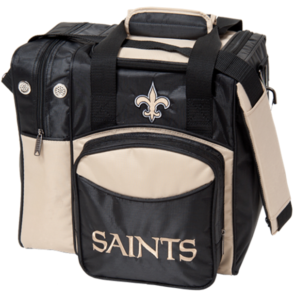 KR Strikeforce NFL New Orleans Saints 1-Ball Bowling Bag