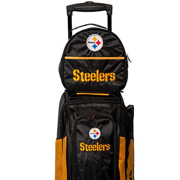 KR Strikeforce NFL Pittsburgh Steelers - Add On Bowling Bag  - front