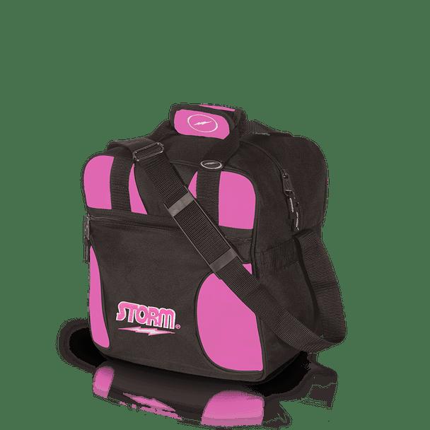 Storm 1 Ball Solo Bowling Bag - Black/Pink