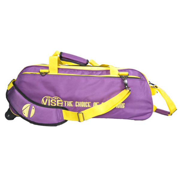 Vise 3 Ball Tote Roller Purple/Gold