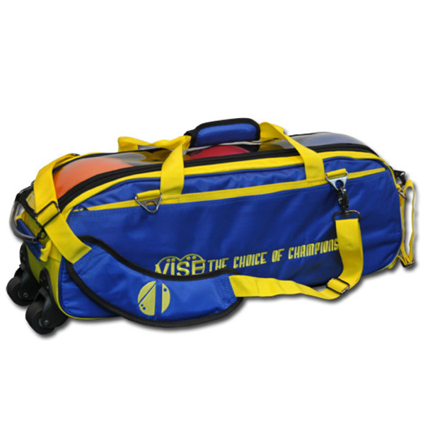 Vise 3 Ball Tote Roller Blue/Yellow