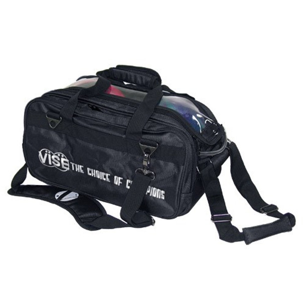 Vise 2 Ball Tote Roller Black