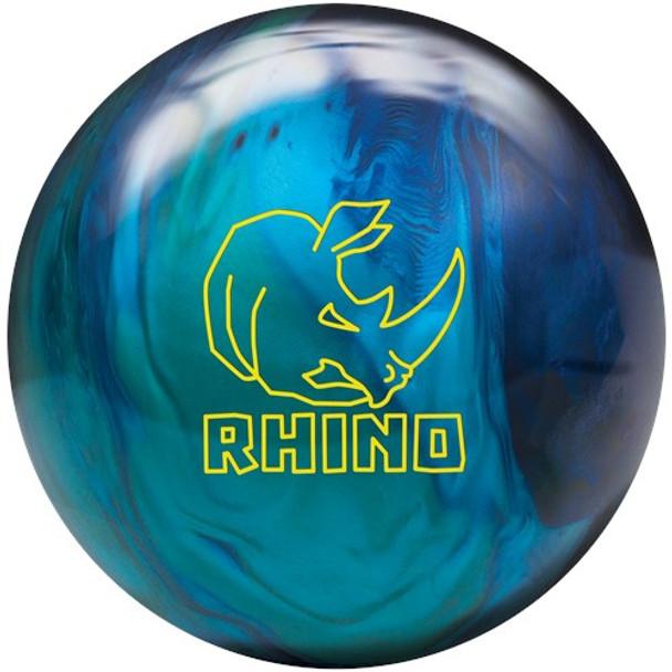 Brunswick Rhino Bowling Ball - Cobalt/Aqua/Teal Pearl