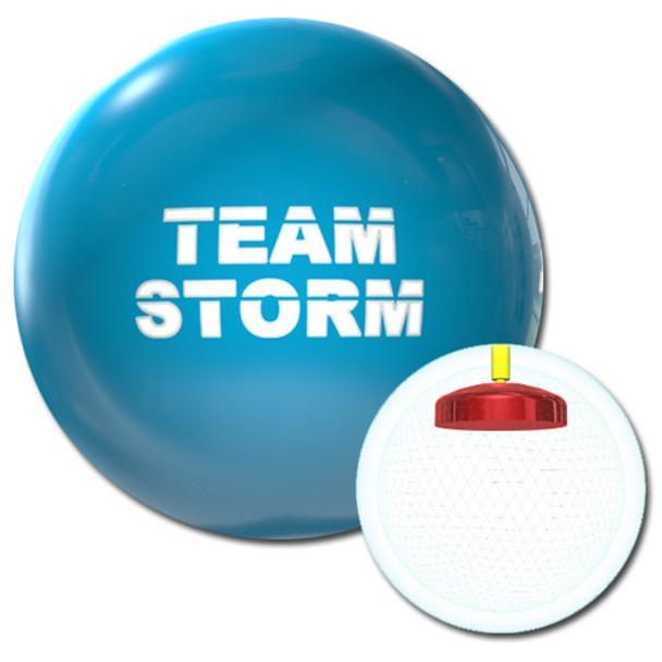 Team Storm Electric Blue Bowling Ball