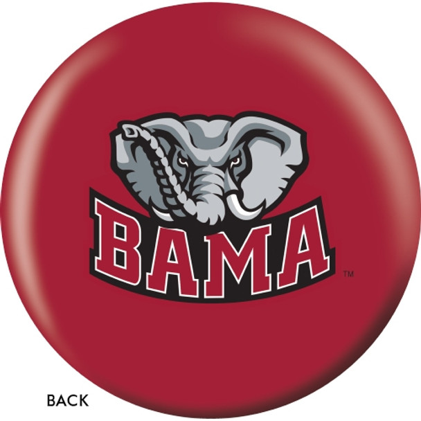 OTBB Alabama Crimson Tide Bowling Ball back