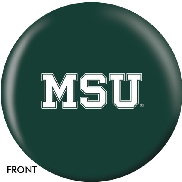 OTBB Michigan State University Bowling Ball front