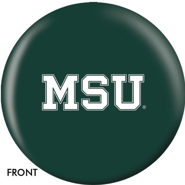 OTBB Michigan State University Bowling Ball front