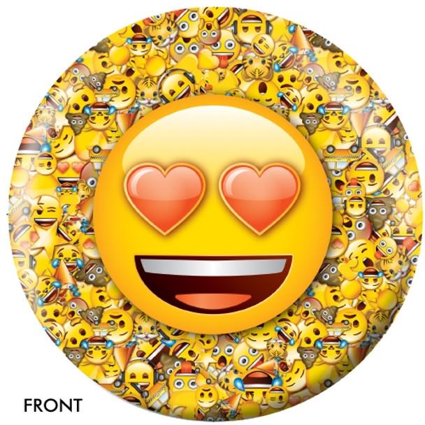 OTBB Emoji Who Love Ya Bowling Ball front