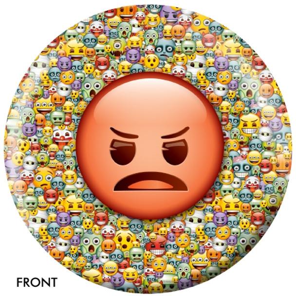 OTBB Emoji Steamed-Devil Bowling Ball front
